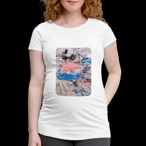 Emelie Kunstwerk V. - Frauen Schwangerschafts-T-Shirt