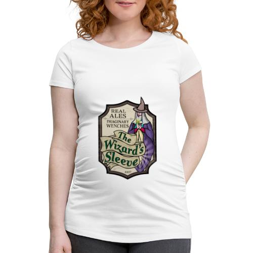 Wizard's Sleeve Pub Sign - Women's Pregnancy T-Shirt