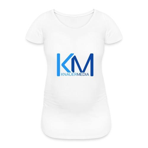 KnauerMedia Handy Hüllen - Frauen Schwangerschafts-T-Shirt