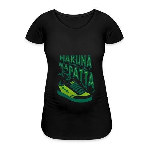 Hakuna maPatta - Vrouwen zwangerschap-T-shirt