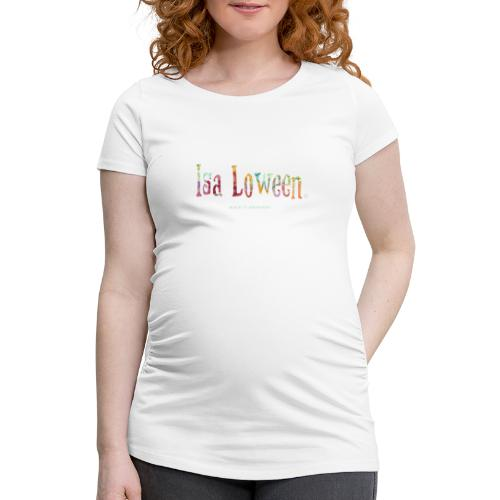 Isa Loween Art & Design Logo - T-shirt de grossesse Femme