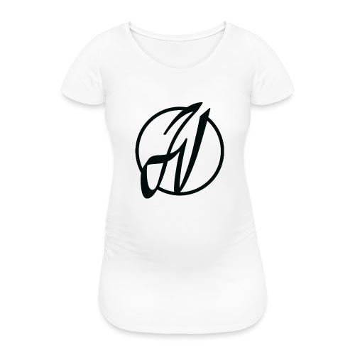 JV Guitars - logo noir - T-shirt de grossesse Femme