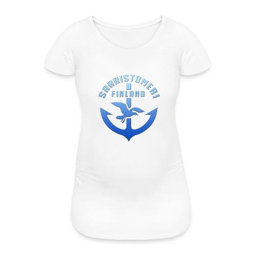 SAARISTOMERI FINLAND ANKKURI Tekstiilit ja lahjat - Naisten äitiys-t-paita