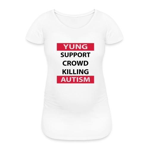 Crowdkill - Vrouwen zwangerschap-T-shirt