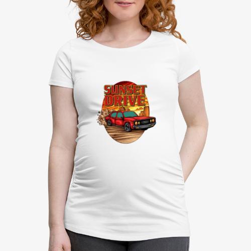 Sunset Drive - Frauen Schwangerschafts-T-Shirt