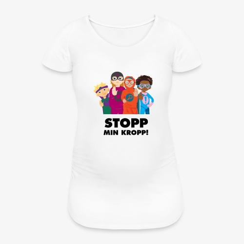 Stopp min kropp! - Gravid-T-shirt dam