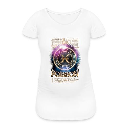 POISSONS - T-shirt de grossesse Femme