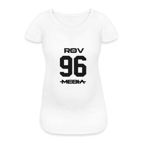 ROV Media - Vrouwen zwangerschap-T-shirt