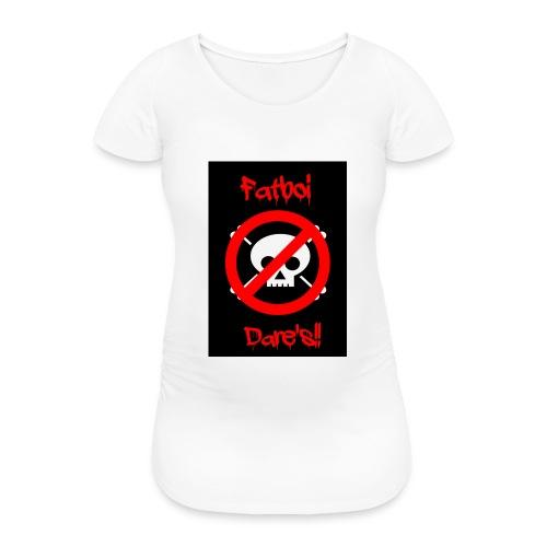 Fatboi Dares's logo - Women's Pregnancy T-Shirt