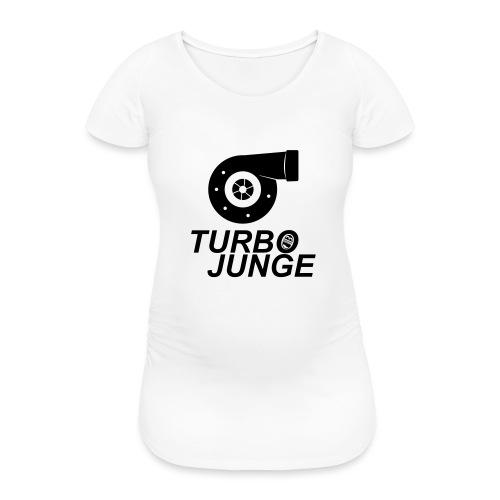 Turbojunge! - Frauen Schwangerschafts-T-Shirt
