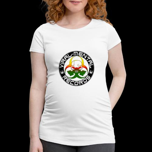 Viral Mental Records Logo - Women's Pregnancy T-Shirt