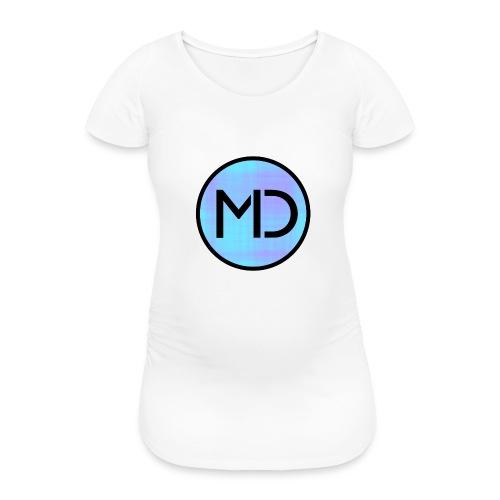 MD Blue Fibre Trans - Women's Pregnancy T-Shirt