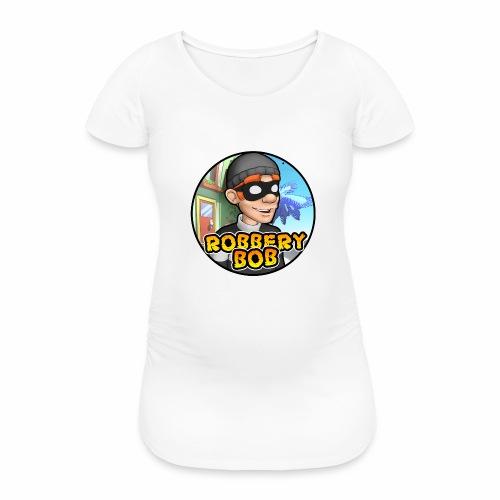 Robbery Bob Button - Women's Pregnancy T-Shirt