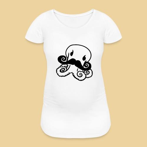 Gentle Octo - Frauen Schwangerschafts-T-Shirt