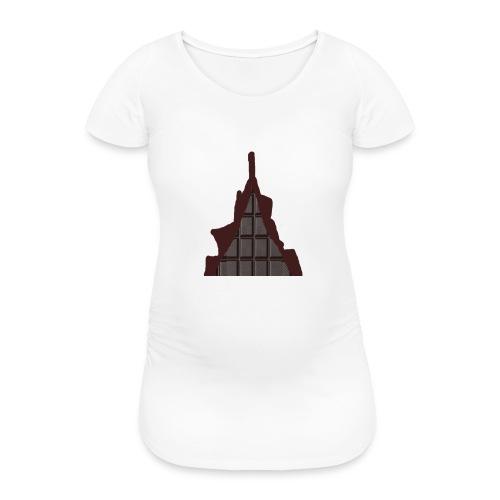 Vraiment, tablette de chocolat ! - T-shirt de grossesse Femme
