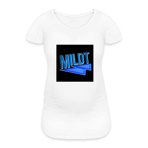 MILDT Muismat - Vrouwen zwangerschap-T-shirt