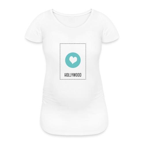 I Love Hollywood - Frauen Schwangerschafts-T-Shirt