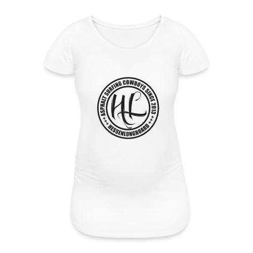 Hessenlongboard® Asphalt Cowboy 2016 - Frauen Schwangerschafts-T-Shirt