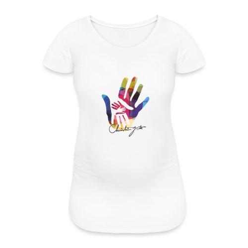 logo_signatur - T-skjorte for gravide kvinner