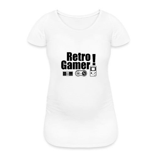Retro Gamer! - Women's Pregnancy T-Shirt
