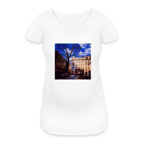 Budapest - Frauen Schwangerschafts-T-Shirt