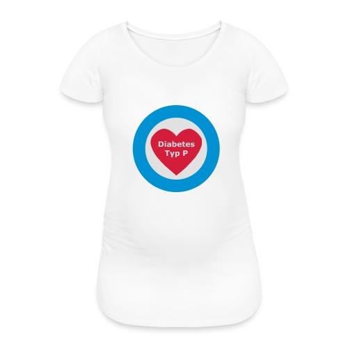Diabetes Typ P - Frauen Schwangerschafts-T-Shirt