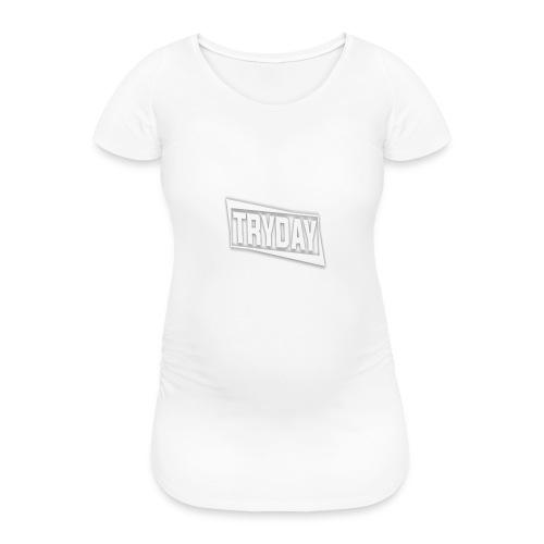 TryDay Cap - Frauen Schwangerschafts-T-Shirt