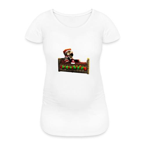 #Ausgeschlafen Weihnachts-Hoddie - Frauen Schwangerschafts-T-Shirt