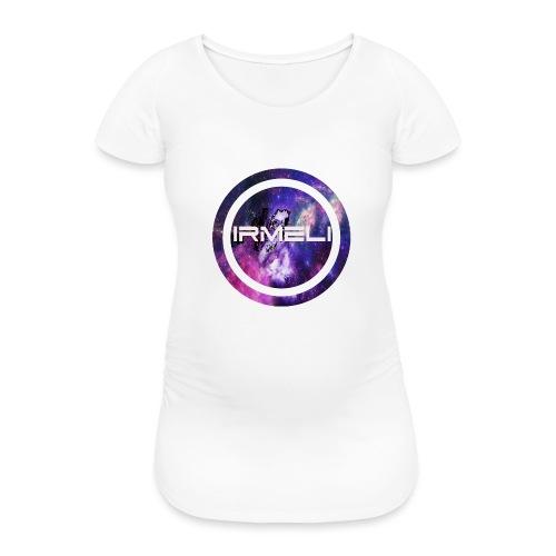 GALAXY LOGO - Naisten äitiys-t-paita