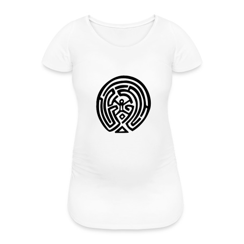 Maze_Westworld - Maglietta gravidanza da donna