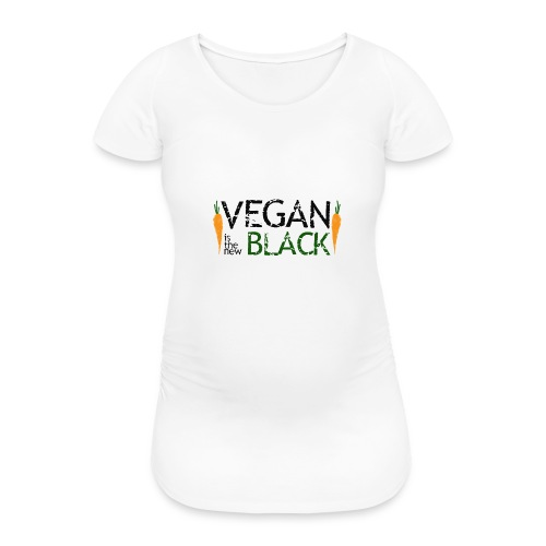Vegan is the new black - Camiseta premamá