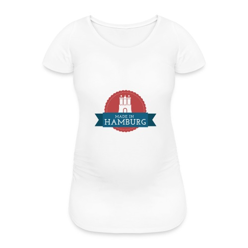 Made in Hamburg - invert - Frauen Schwangerschafts-T-Shirt