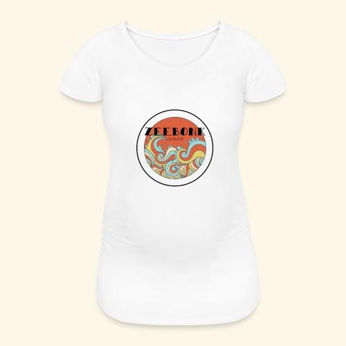 zeebonkwaves - Vrouwen zwangerschap-T-shirt