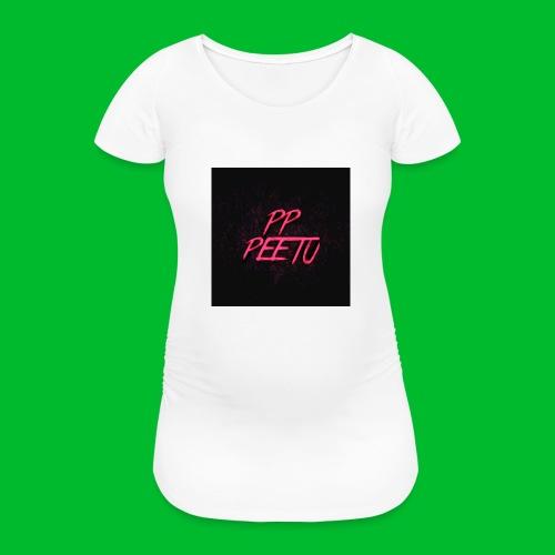 Ppppeetu logo - Naisten äitiys-t-paita