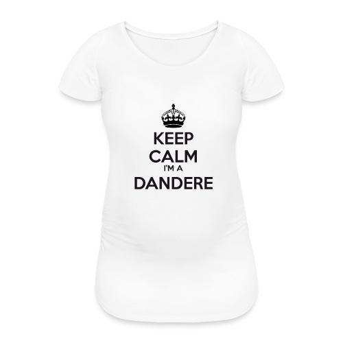 Dandere keep calm - Women's Pregnancy T-Shirt