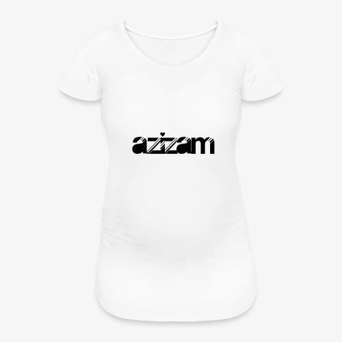 azizam - Frauen Schwangerschafts-T-Shirt