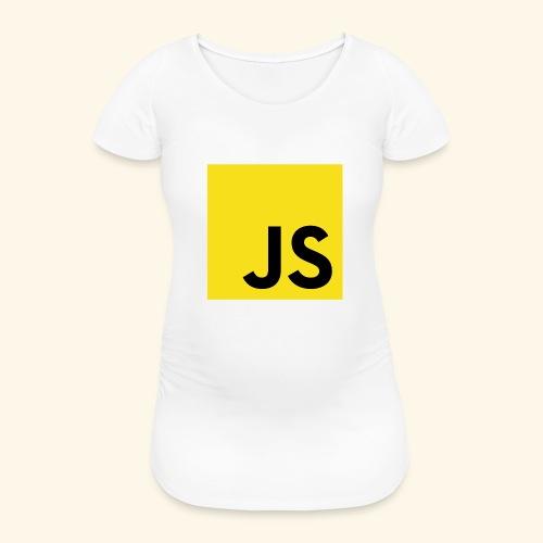JS Developer T-Shirt - Frauen Schwangerschafts-T-Shirt