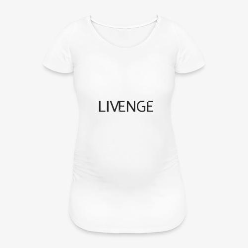 Livenge - Vrouwen zwangerschap-T-shirt