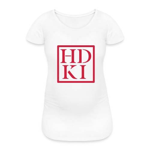 HDKI logo - Women's Pregnancy T-Shirt