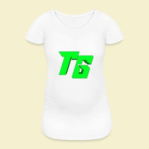 TristanGames logo merchandise [GROOT LOGO] - Vrouwen zwangerschap-T-shirt