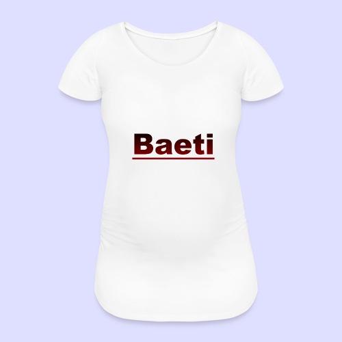 Baeti - Vrouwen zwangerschap-T-shirt