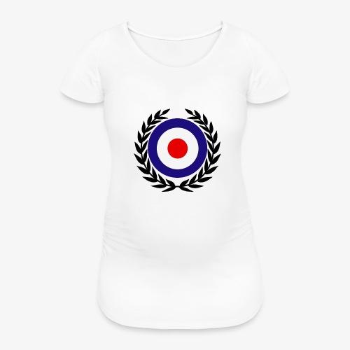 target mod laurel design lady hood - Women's Pregnancy T-Shirt