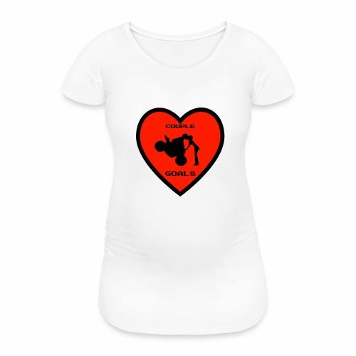Couple Goals <3 - Maglietta gravidanza da donna