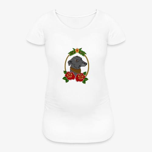 Blue Greyhound - Women's Pregnancy T-Shirt