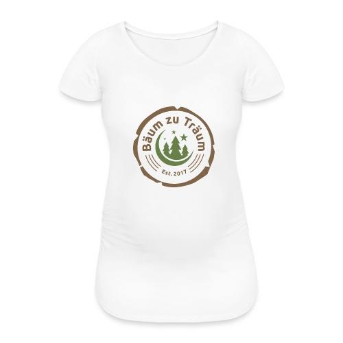 Bäum zu Träum - Frauen Schwangerschafts-T-Shirt