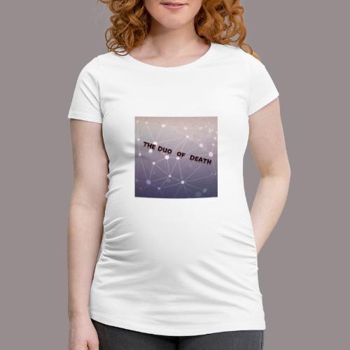 The duo of death logo - Vrouwen zwangerschap-T-shirt