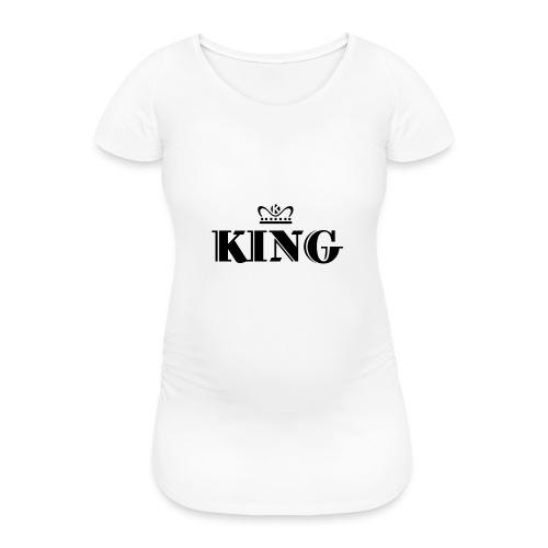 King - Frauen Schwangerschafts-T-Shirt