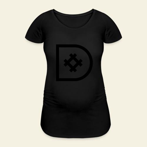 Icona de #ildazioètratto - Maglietta gravidanza da donna