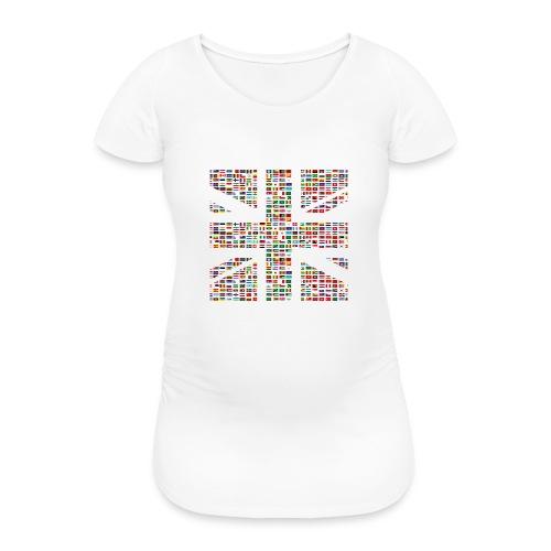 The Union Hack - Women's Pregnancy T-Shirt