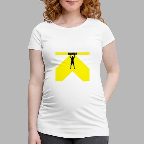 Fitness Lift - Frauen Schwangerschafts-T-Shirt
